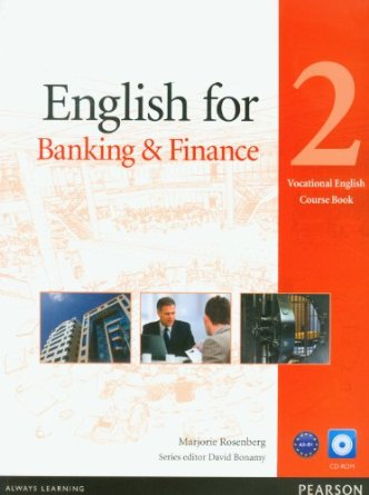 English for Banking & Finance Level 2 Coursebook and CD-ROM Pack [Anglais]