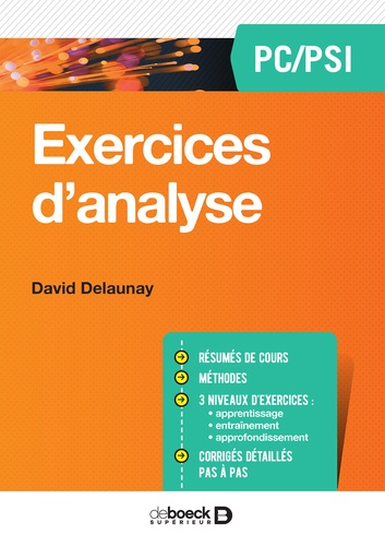 Exercices d'analyse PC/PSI