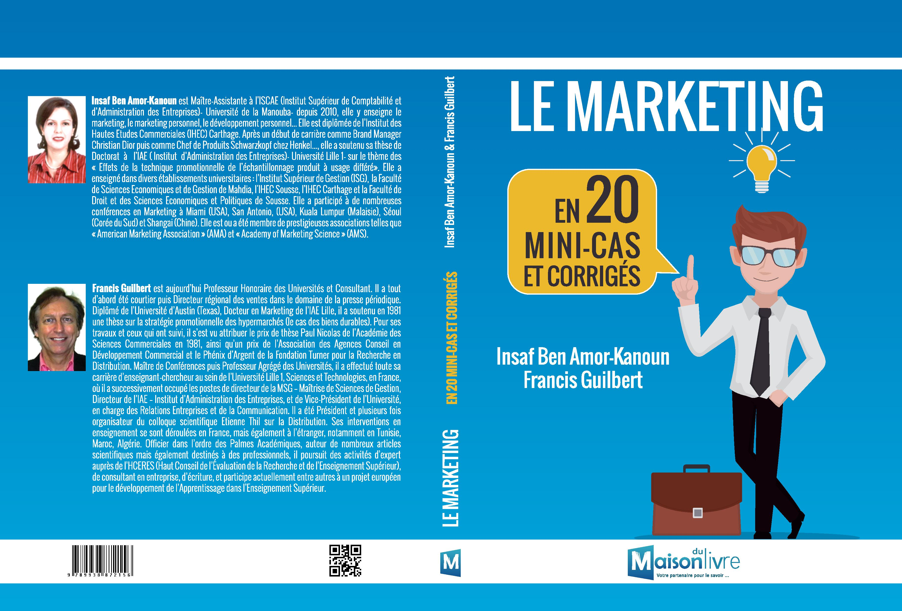 LE MARKETING en 20 mini-cas et corrigées